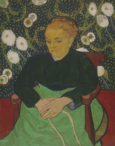 "The Art Institute of Chicago's ""Madame Roulin"" by Vincent van Gogh will be paired next year at CMA with...."