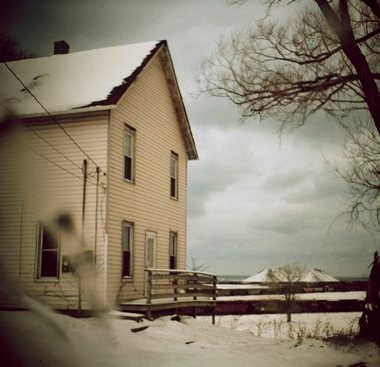 Shades of Hopper and Hitchcock: a photograph by Todd Hido.