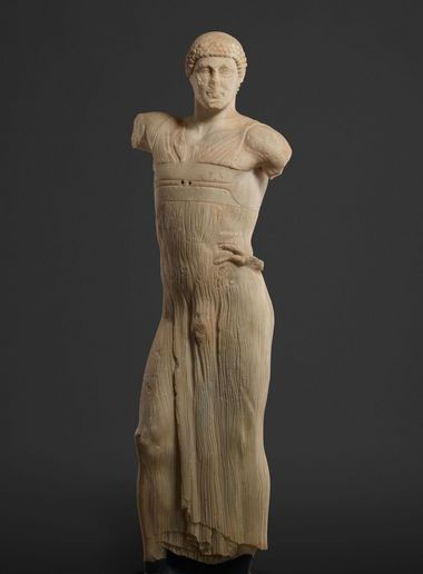 The Statue of a Youth (The Mozia Charioteer), 470-460 BC. Sikeliote (Sicilian Greek), is coming to Cleveland this fall, following successful negotiations between the Cleveland Museum of Art and Sicily.