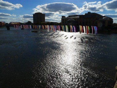 Among other things, ArtPrize shows off Grand Rapids' Grand River, which lives up to its name.