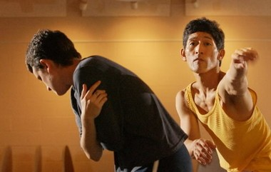 David Shimotakahara, right, rehearses with artistic associate Amy Miller in this 2004 photograph.