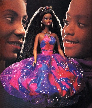 """""""Now There's a Doll,"""" by Hank Willis Thomas."""