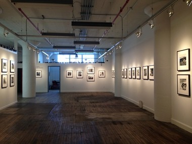 The Cleveland Print Room's gallery is a fine setting for the Vivian Maier exhibition.