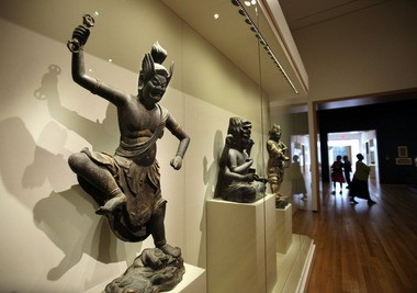 Sherman Lee helped shape the Cleveland Museum of Art's Japanese collection, which went back on view in 2013 after years in storage during the museum's expansion and renovation.
