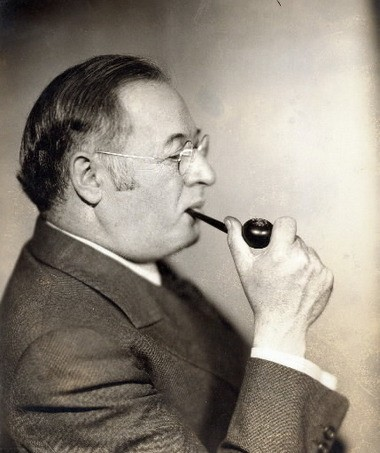 Patriarch: Cleveland artist, designer, teacher and pioneer of modernism, Louis Rorimer, in his fifties, in an undated photograph. His son, James became a Monuments Man in World War II and later, director of the Metropolitan Museum of Art in New York.
