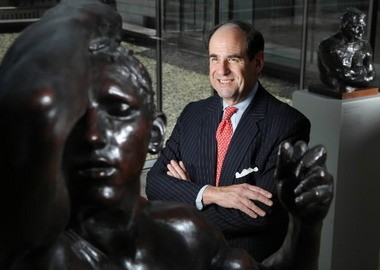 Michael Horvitz at the Cleveland Museum of Art in 2009 before he left the museum's board of trustees after an in-house power struggle.