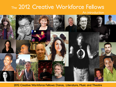 Winners of the Creative Workforce Fellowship in Cuyahoga County in 2012 included writer Anne Trubek, third from left, top row, who published an article about the suspension of the program for Belt Magazine, and Plain Dealer reporter Joanna Connors, second row from the top, left.