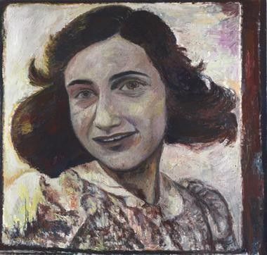"""Anne Frank,"" 2007, by Keith Mayerson was acquired by the Cleveland Museum of Art thanks to a purchase fund donated by Scott Mueller."