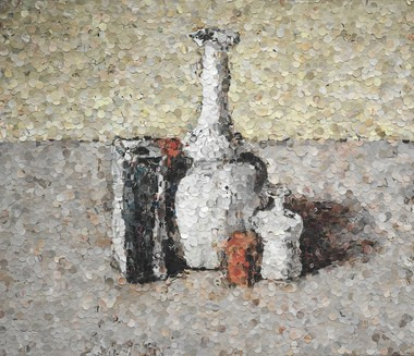 In 2004, the Cleveland Museum of Art acquired its first Vik Muniz photo.
