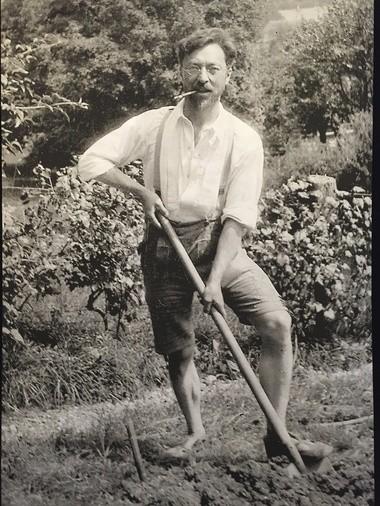 Wassily Kandinsky: avant-gardener.