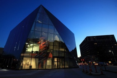The MOCA Cleveland Building, designed by Iranian native Farshid Moussavi, was finished in 2012.