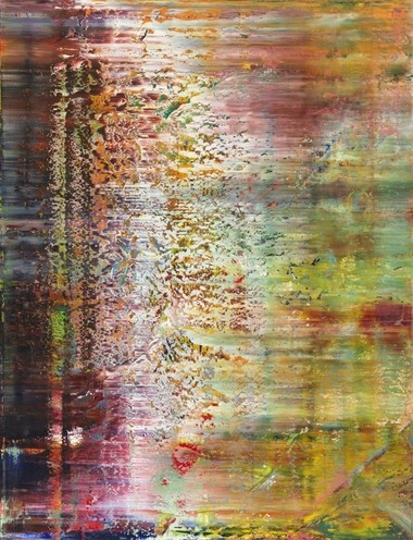 "Gerhard Richter's ""Abstract Painting (750-1), 1991, is on view in the Cleveland Museum of Art's new contemporary installation."