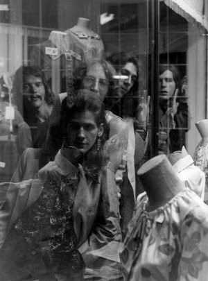 Mirrors played a brand of psychedelic pop that received little notice in the early-'70s, but is now highly regarded by record collectors and underground music fans. This photo, from 1974, features, from left: Jim Crook, Paul Marotta, Craig Bell, Jaime Klimek, Mike Weldon.