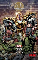 """""""Age of Ultron"""" Book One, written by Brian Michael Bendis."""