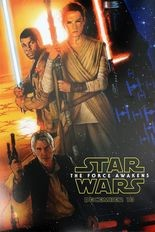 """The poster for """"Star Wars: The Force Awakens."""""""