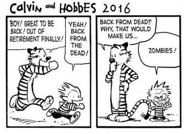 Calvin and Hobbes 2016.