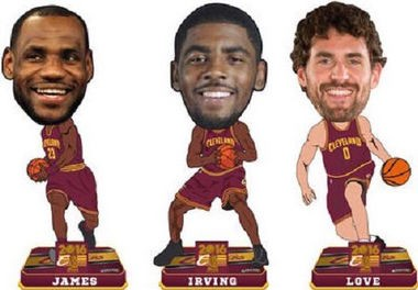 The National Bobblehead Hall of Fame and Museum is offering presale for Cleveland Cavaliers 2016 NBA Championship bobbleheads.