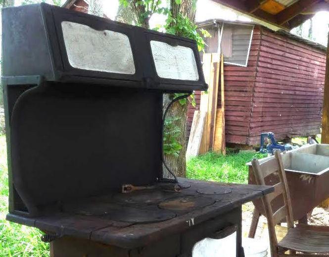 Grace Pavilion stone oven