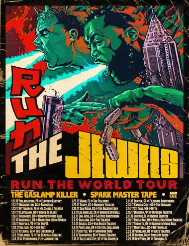 Run the Jewels 2017 tour