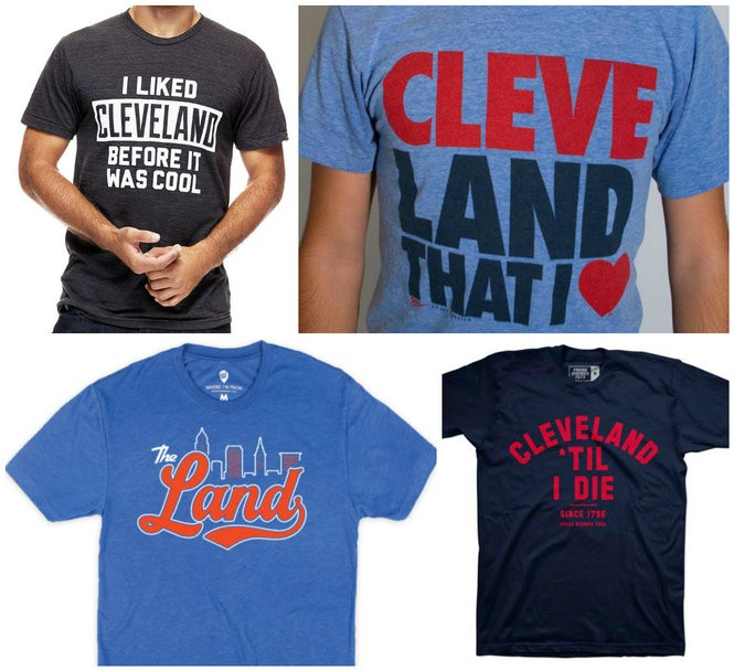 82e96748 CLEVELAND, Ohio -- Travel to any other city and you'd be hard pressed to  find more people with the name of their hometown emblazoned on their  clothing.