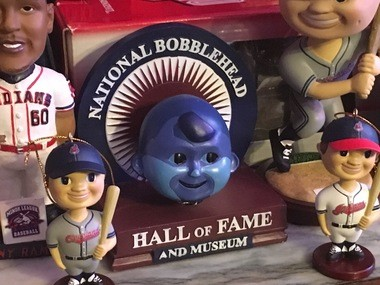 The National Bobblehead Hall of Fame and Museum is in Milwaukee.