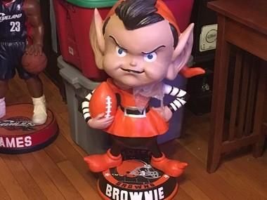 Brownie the Elf is Bob Manak's favorite.