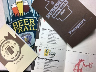 Summit Brew Path is a passport program for craft-brewery visitors.