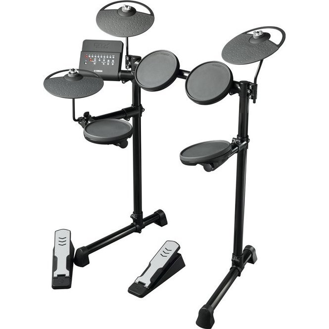 So your kid wants to be a drummer, eh? Your neighbors might even pitch in to help pay for the Yamaha DTX400 electronic drum set.