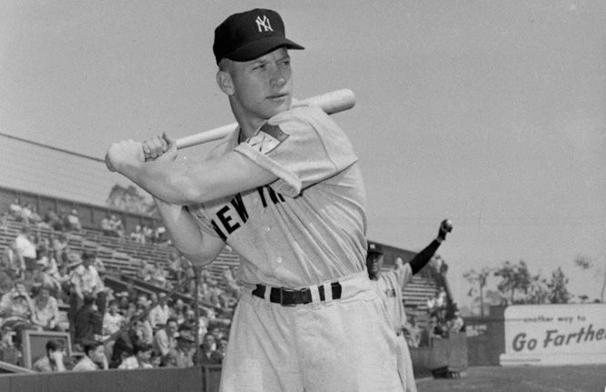 The one who got away: Mickey Mantle, shown in 1951, was almost a Cleveland Indian.