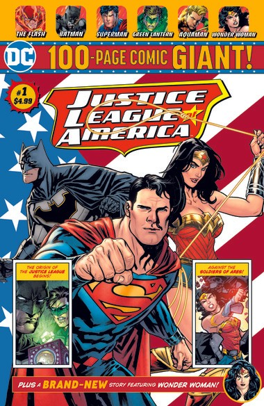 DC Comics announced it will release four monthly series of 100 page, $4.99 comics with new and reprint material featuring Batman, Superman, the Justice League of America and Teen Titans to be sold exclusively through Walmart beginning July 1.