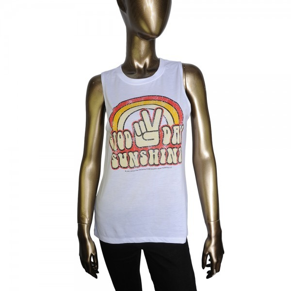 The Rock & Roll Hall of Fame store offers gems for any Beatles fans: items from the Lennon and McCartney Collection of clothing, like this tank. And a head's up: Any membership in the Rock Hall carries with it a 10 percent discount at the store and cafe.