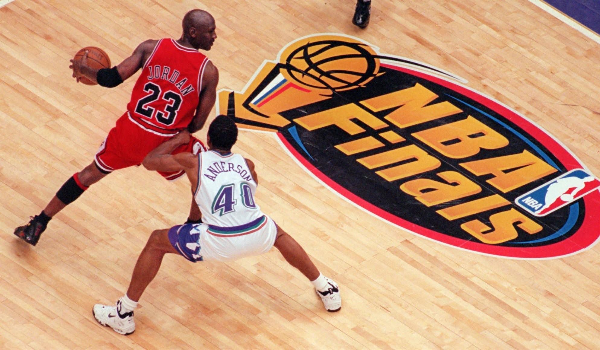 Michael Jordan's 'Last Shot' shoes will