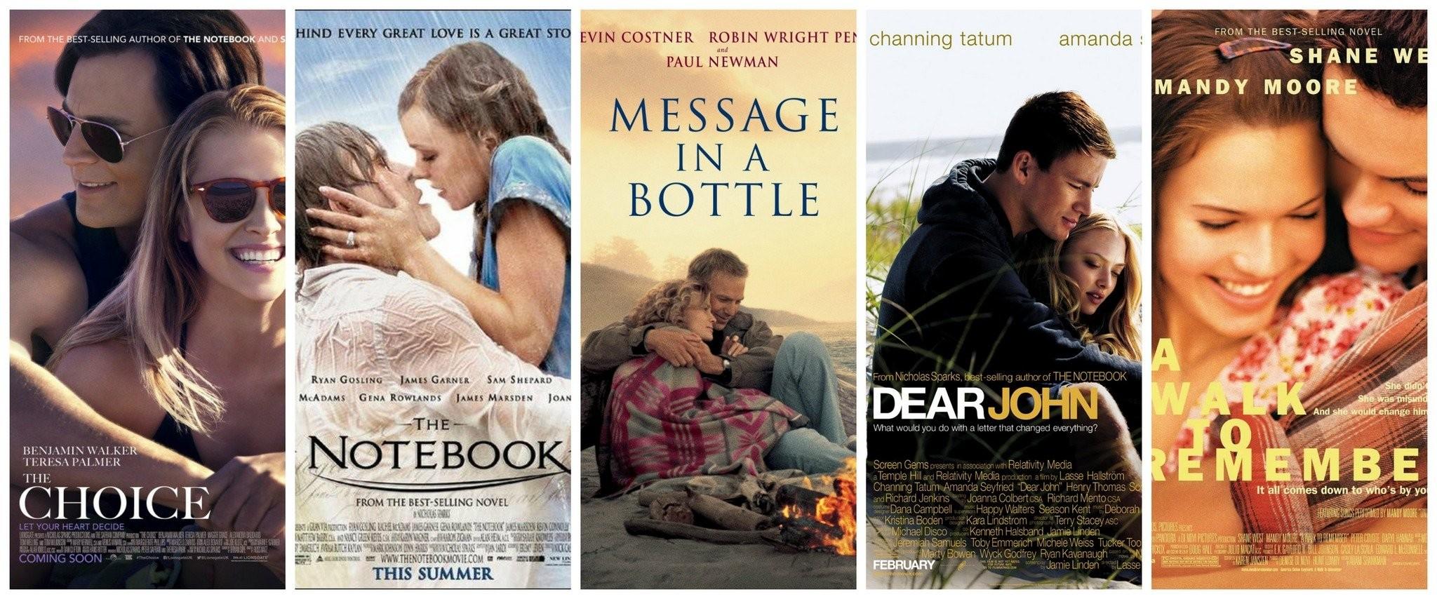 best nicholas sparks movies