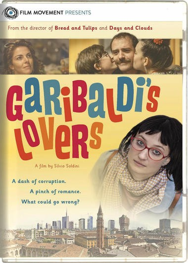 "DVD review of ""Garibaldi's Lovers"" comedy from Italy."