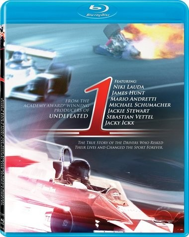 "DVD review of ""1"" documentary on Formula One racing in 1970s, narrated by Michael Fassbender."