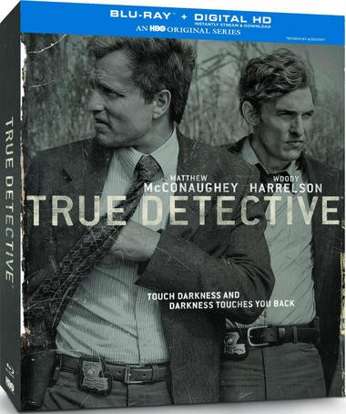 """DVD review of """"True Detective"""" starring Woody Harrelson."""