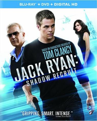 "DVD review of ""Jack Ryan: Shadow Recruit"" starring Chris Pine."