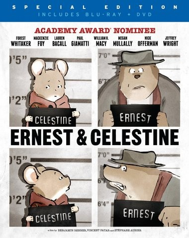 """DVD review of """"Ernest and Celestine"""" animated Oscar nominee."""