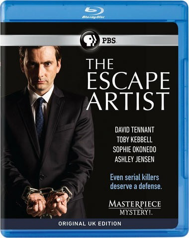 """DVD review of """"The Escape Artist"""" starring David Tennant."""