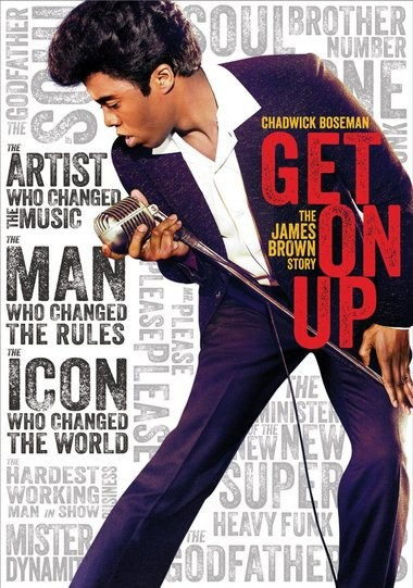 "DVD review of ""Get On Up"" biopic on James Brown."