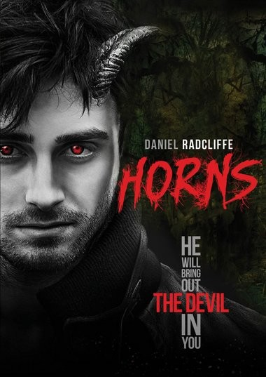 "DVD review of ""Horns"" starring Daniel Radcliffe."