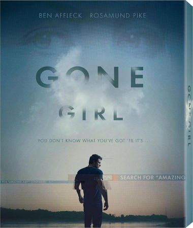"DVD review of ""Gone Girl"" starring Ben Affleck."