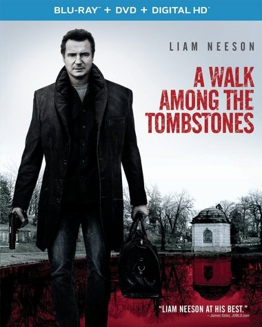 "DVD review of ""A Walk Among the Tombstones"" starring Liam Neeson."