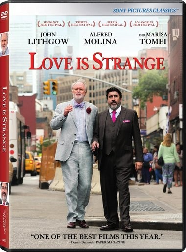 "DVD review of ""Love is Strange"" starring John Lithgow."