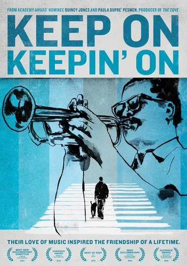 "DVD review of ""Keep On Keepin' On"" documentary about Clark Terry."
