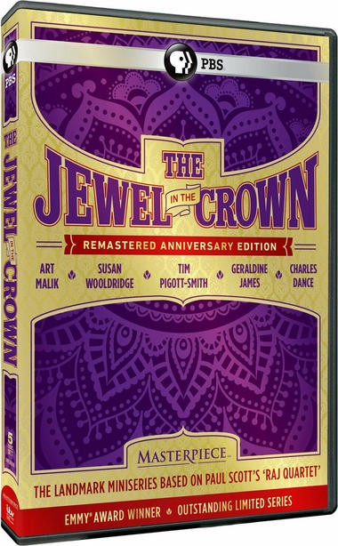 "DVD review of ""The Jewel in the Crown"" TV mini-series."