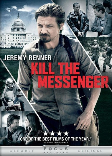 "DVD review of ""Kill the Messenger"" starring Jeremy Renner."