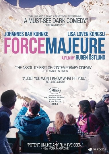 "DVD review of ""Force Majeure."""