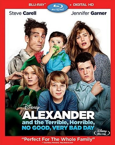 "DVD review of ""Alexander and the Terrible, Horrible, No Good, Very Bad Day."""
