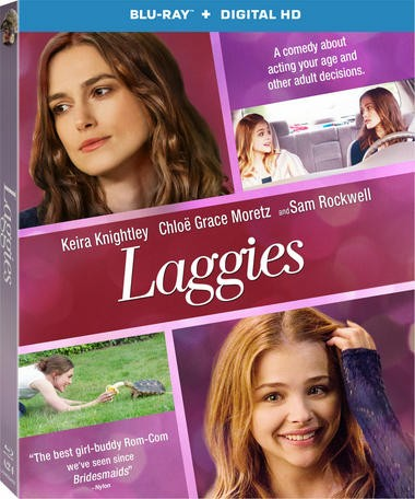 "DVD review of ""Laggies"" starring Keira Knightley."